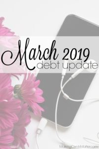 March 2019 Debt Update