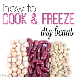 How To Cook Freeze Dry Beans