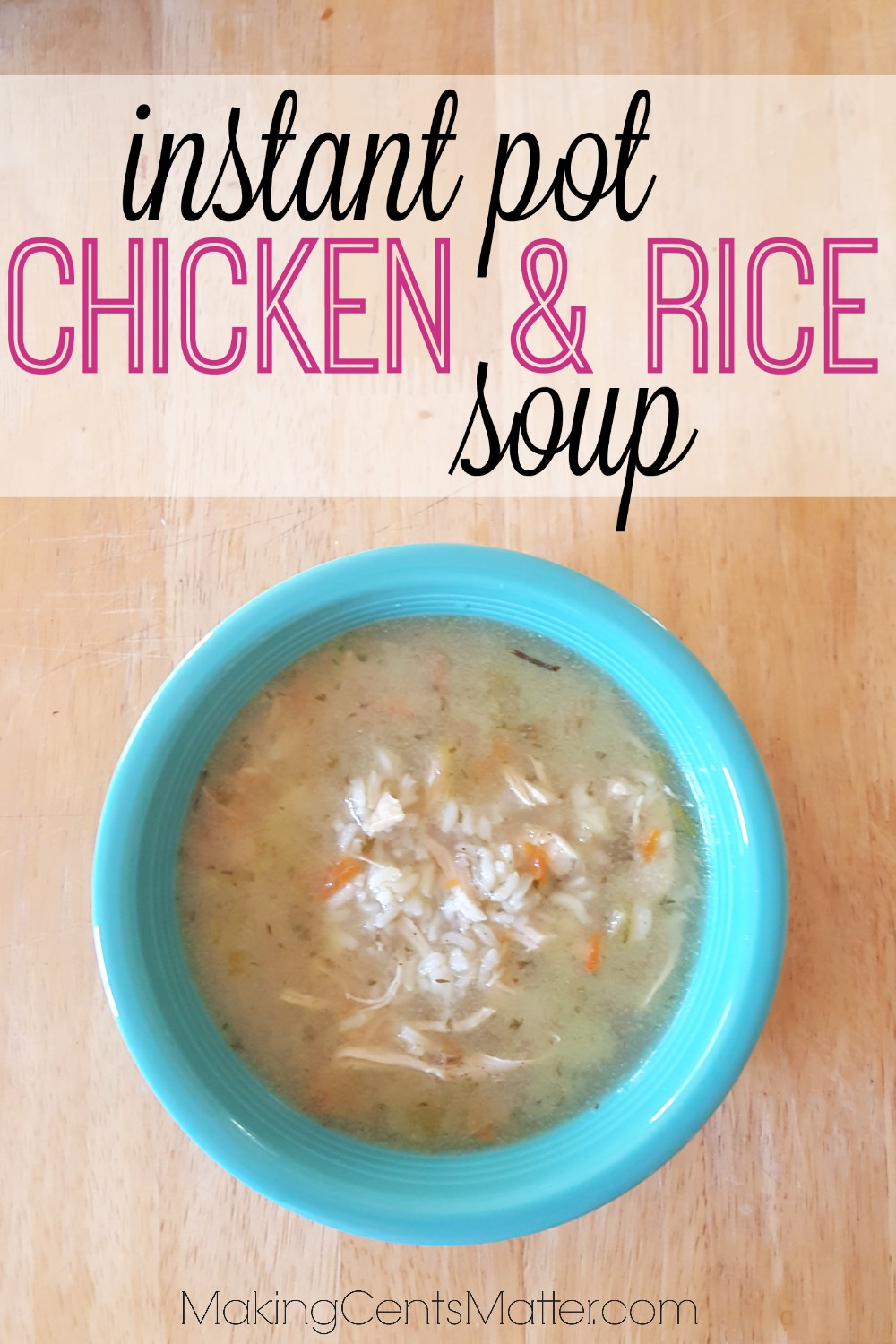 Instant Pot Chicken Rice