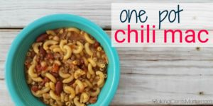 One Pot Chili Mac | Fast, Frugal & Filling Recipe