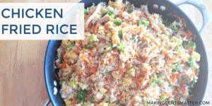 Easy Homemade Chicken Fried Rice