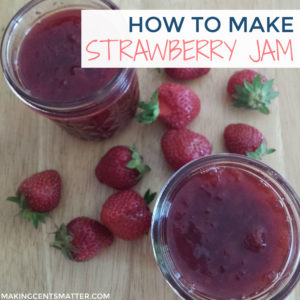 How To Make Strawberry Jam - with Canning Tutorial