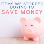 Over 30 Items We Stopped Wasting Money On